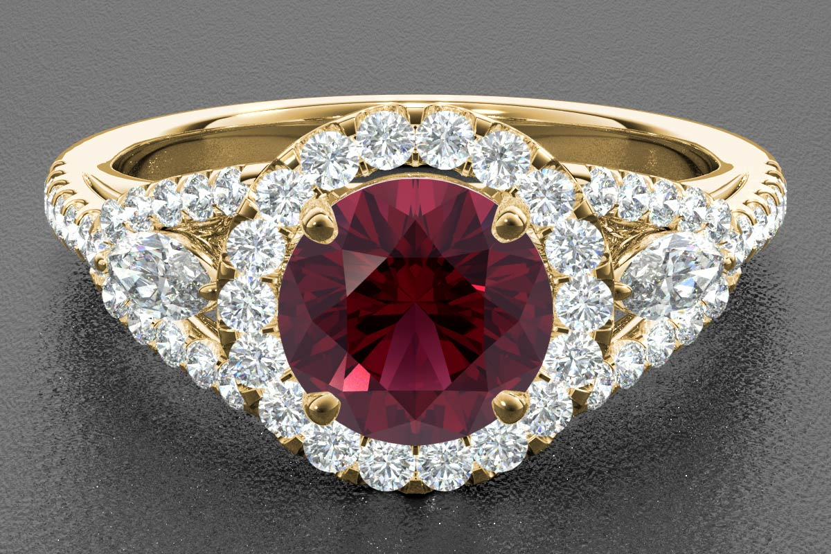 ruby render yellow gold