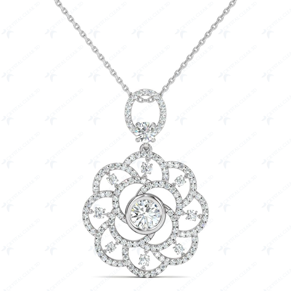 white gold necklace jewelry