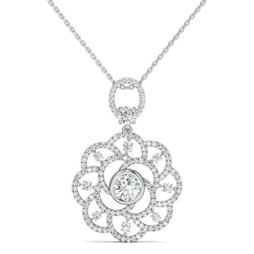 white gold pendtand jewelry